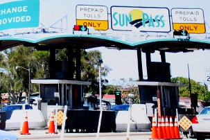 sunpass toll plaza